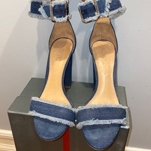 Schutz Jean sandal heels